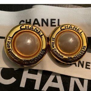 Chanel 31 Rue Cambon Clip on Earrings